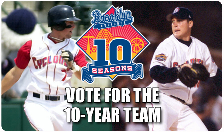 VOTE FOR THE 10-YEAR TEAM