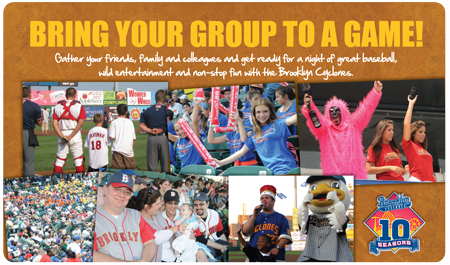 BRING YOUR GROUP TO MCU PARK