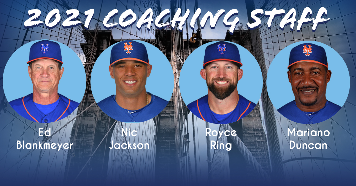 2021 Coaching Staff Announced