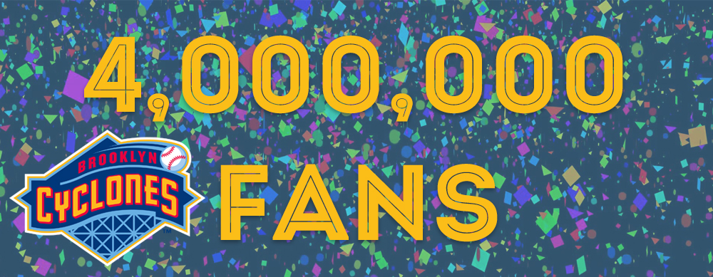 COULD YOU BE OUR 4,000,000th FAN?