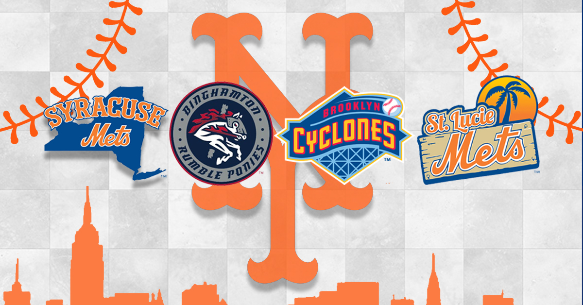 Mets Invite Four Teams To Be Their Affiliates