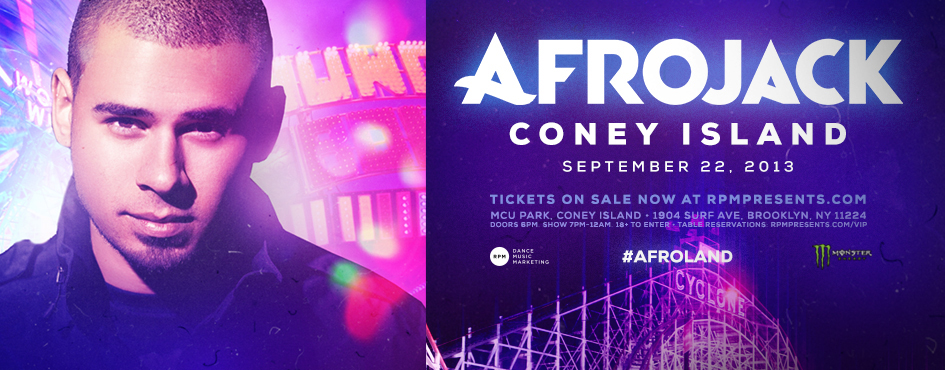 AFROJACK CONCERT MOVED TO ROSELAND BALLROOM