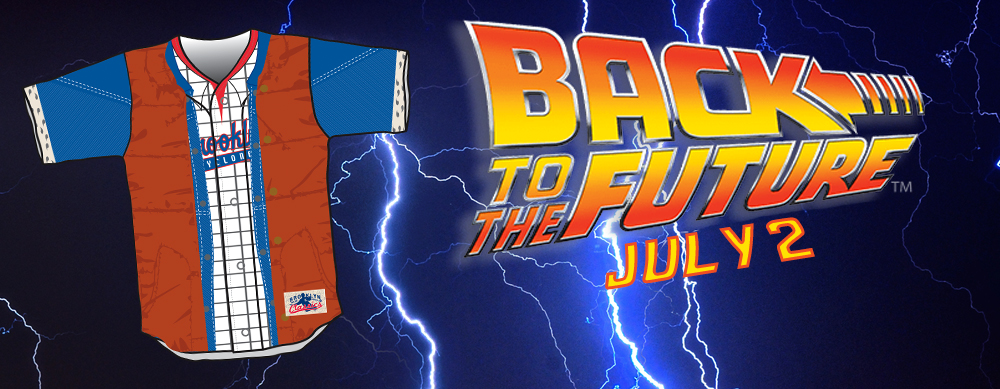 BACK TO THE FUTURE JERSEY GIVEAWAY - JULY 2