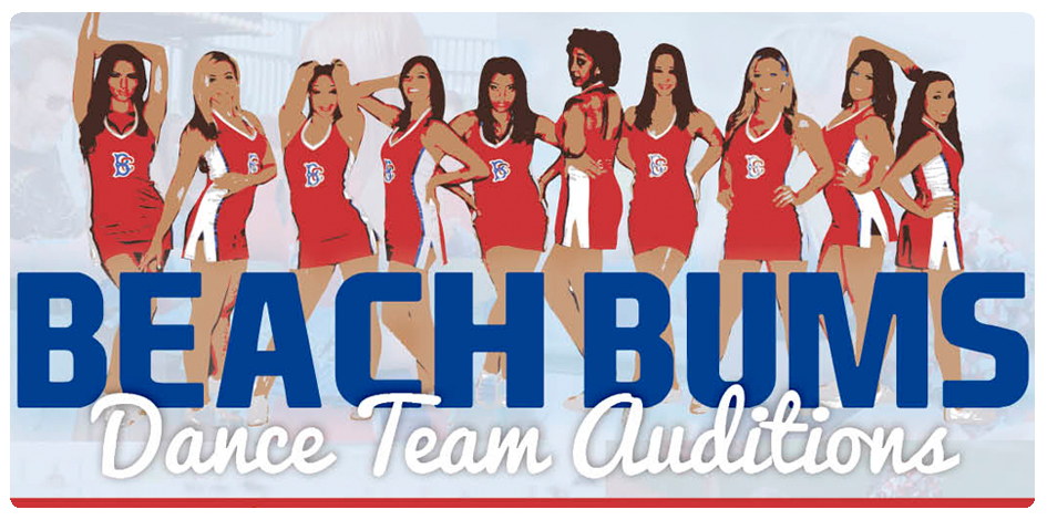 2014 BEACH BUM DANCE TEAM AUDITIONS
