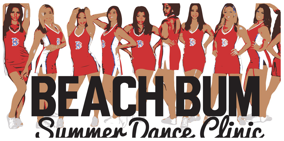 BEACH BUM DANCE CLINIC - AUGUST 31st