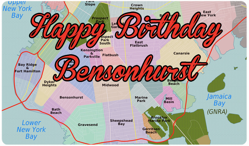 BENSONHURST'S 350th BIRTHDAY PARTY - JULY 9th