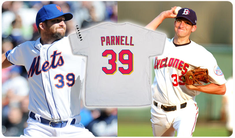 BOBBY PARNELL T-SHIRT JERSEY - AUGUST 21st
