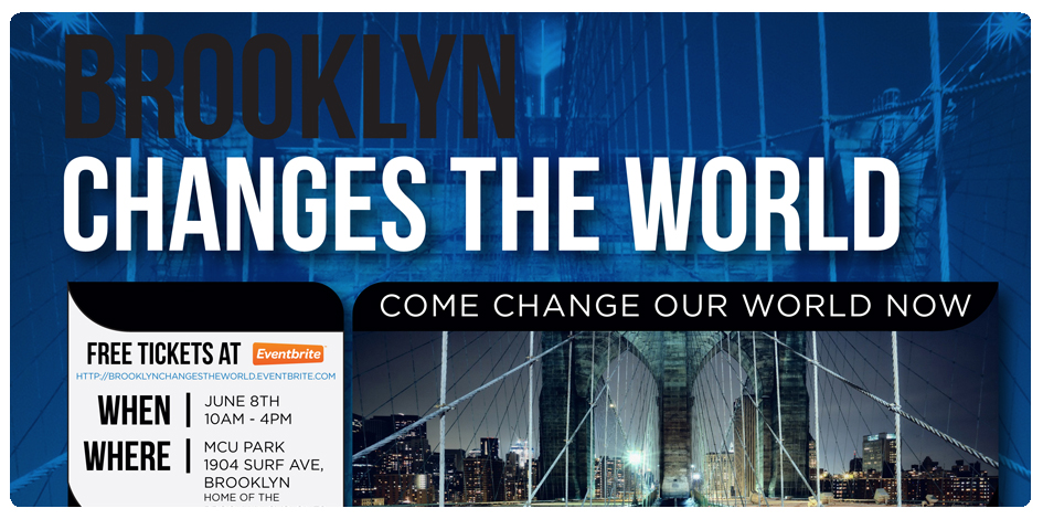 BROOKLYN CHANGES THE WORLD EVENT