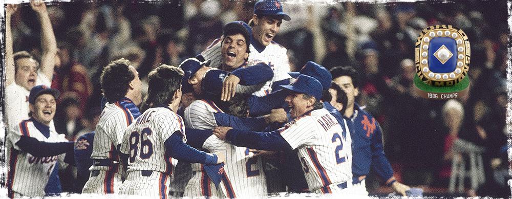 1986 CHAMPIONSHIP RING DESK DISPLAY - JUNE 26