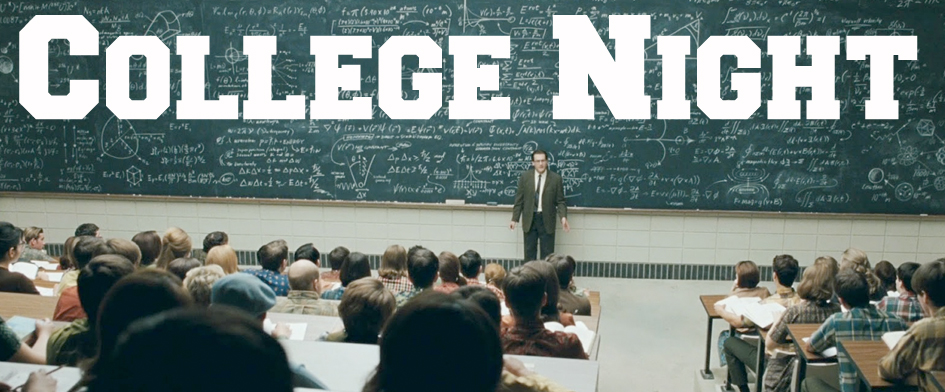 COLLEGE NIGHT - SATURDAY, AUGUST 2nd