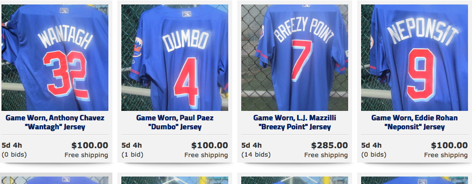 MEANINGFUL MONDAY JERSEY AUCTION