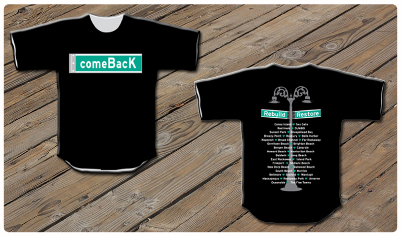 ORDER YOUR COMEBACK CHARITY SHIRT
