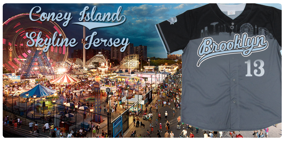 CONEY SKYLINE JERSDAY THURSDAY -- AUGUST 22ND