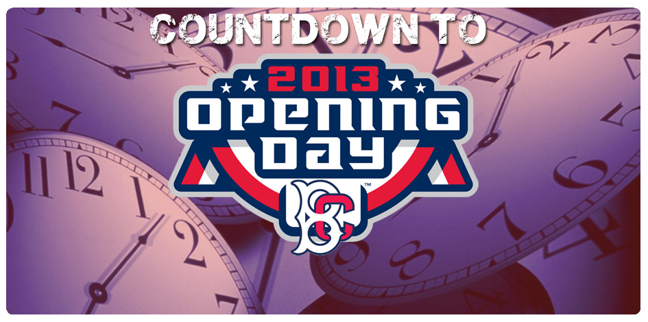 WIN PRIZES AS WE COUNTDOWN TO OPENING DAY
