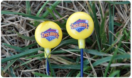CYCLONES EAR BUDS FRIDAY NIGHT