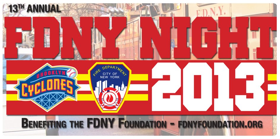 TONIGHT IS FDNY NIGHT