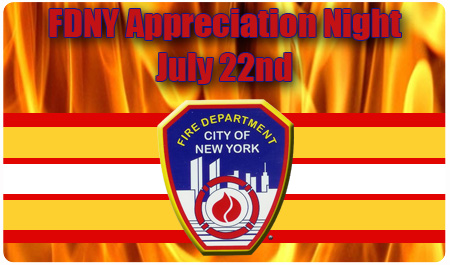 GROUP TICKETS FOR FDNY NIGHT ON SALE NOW