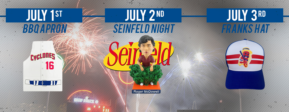 FASTBALLS & FIREWORKS AT MCU PARK THIS HOLIDAY WEEKEND