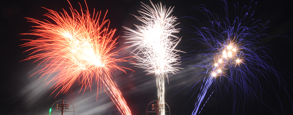 FRIDAY NIGHT FIREWORKS AT MCU PARK