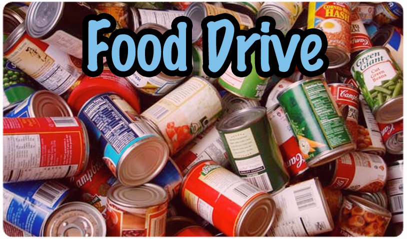 FOOD DRIVE - AUGUST 21st