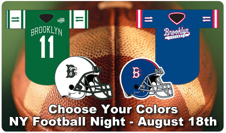 NY FOOTBALL NIGHT-- AUGUST 18TH