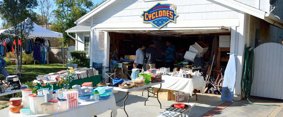GARAGE SALE GIVEAWAY - JUNE 16th