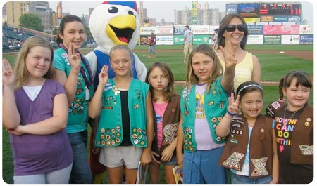 CYCLONES TO CELEBRATE 100 YEARS OF GIRL SCOUTS