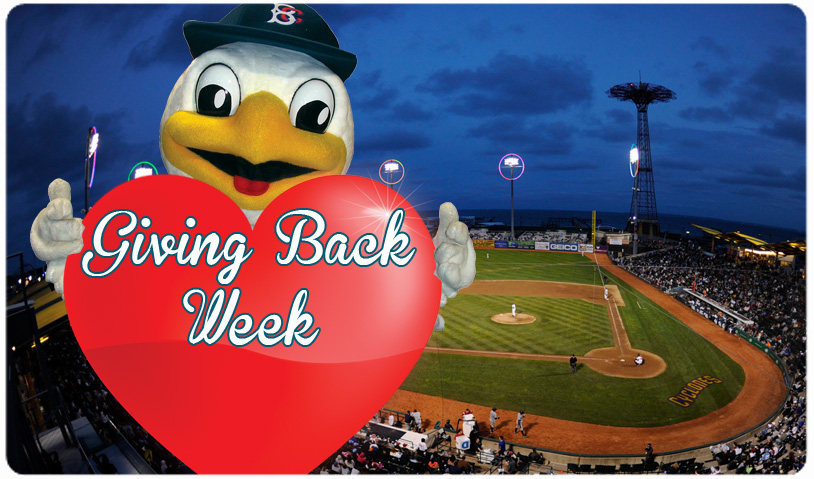 GIVING BACK WEEK AT MCU PARK