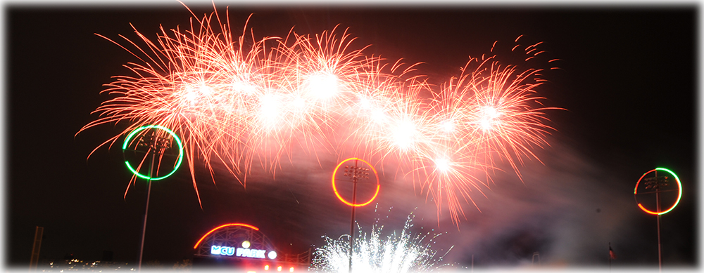 SATURDAY NIGHT FIREWORKS - JUNE 25th