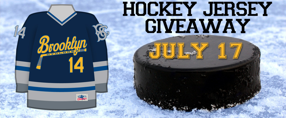 HOCKEY JERSEY NIGHT - THURSDAY, JULY 17th