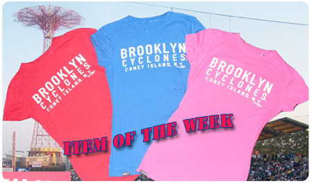 ITEM OF THE WEEK:  LADIES ICON TEE