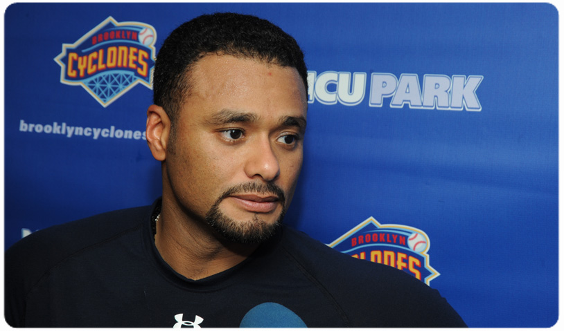 JOHAN SANTANA TALKS ABOUT RECOVERY AND CYCLONES
