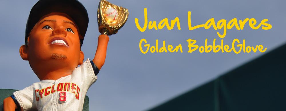 JUAN LAGARES GOLDEN BOBBLEGLOVE