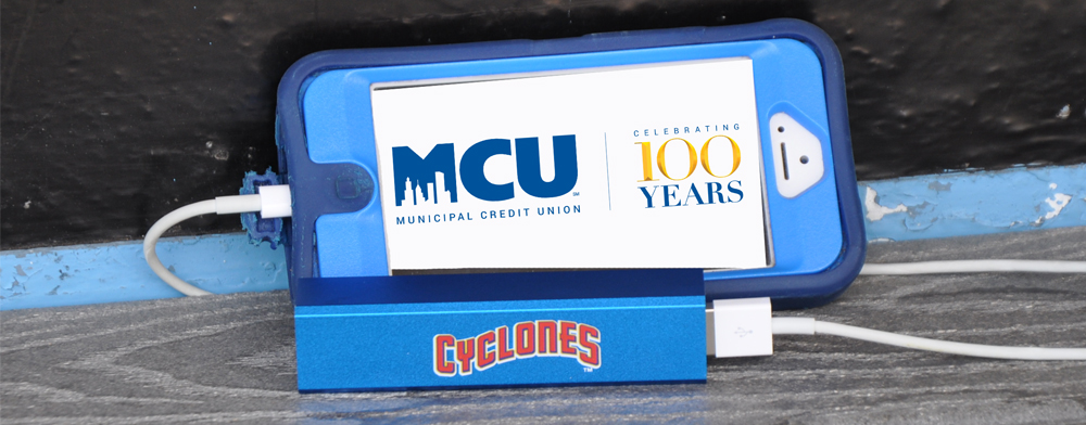 MCU 100th ANNIVERSARY & PORTABLE CELL PHONE CHARGER