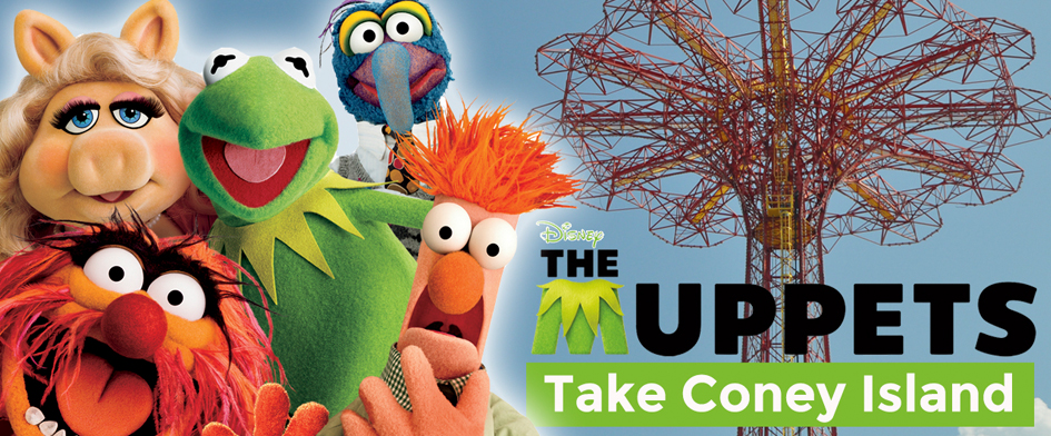 THE MUPPETS TAKE CONEY ISLAND - MONDAY, AUGUST 4th