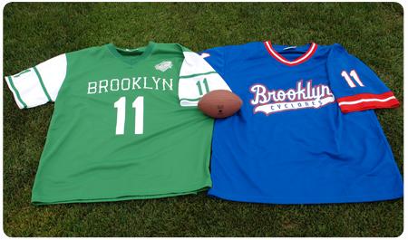 AUGUST 18 - NY FOOTBALL NIGHT - JERSDAY THURSDAY
