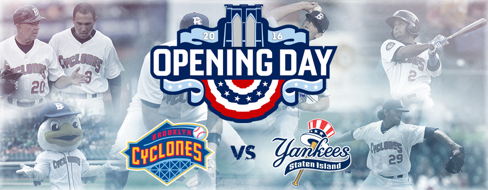 GET YOUR SEATS FOR OPENING DAY - JUNE 17th