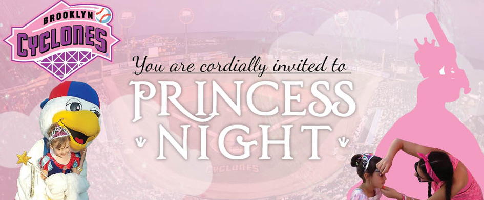 PRINCESS NIGHT - AUGUST 23rd
