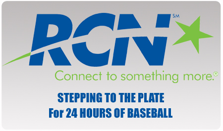RCN DONATES TO 24 HOURS OF BASEBALL