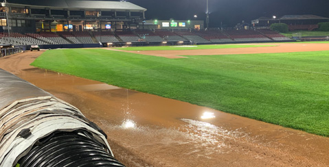 Cyclones End Up All Wet in 1-0 Loss