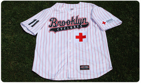 CYCLONES TO WEAR RED CROSS JERSEYS ON THURSDAY