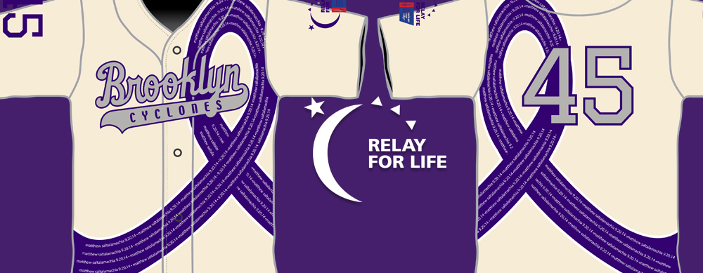 RELAY FOR LIFE JERSEY FUNDRAISER