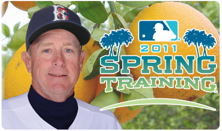RICH DONNELLY CHECKS IN FROM SPRING TRAINING