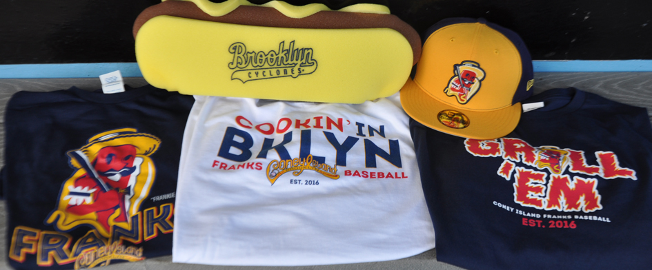 GET YOUR CONEY ISLAND FRANKS GEAR NOW