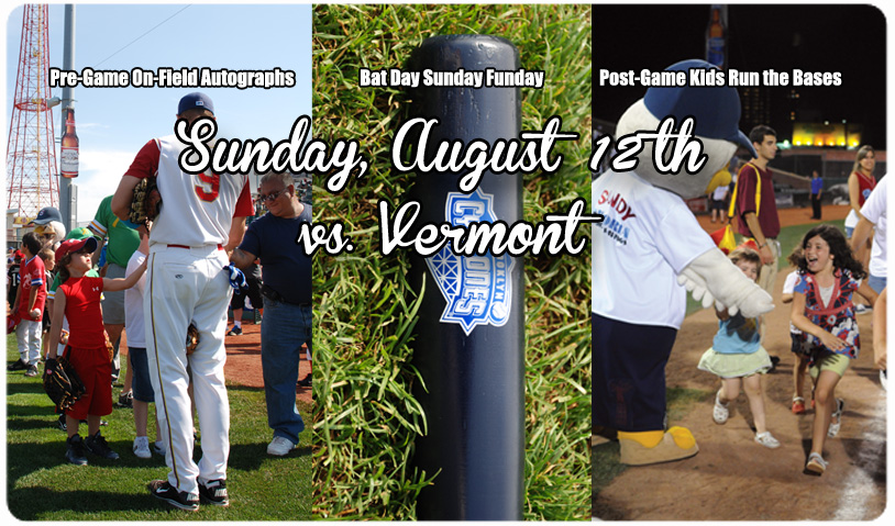 BAT DAY SUNDAY FUNDAY -- AUGUST 12th