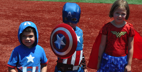SUPER HERO DAY - TUESDAY, AUGUST 23rd