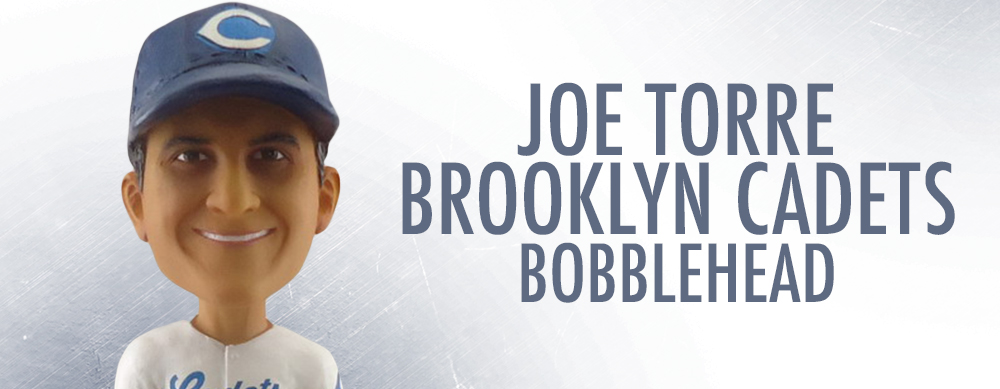 AUGUST 9th -- JOE TORRE BOBBLEHEAD & APPEARANCE