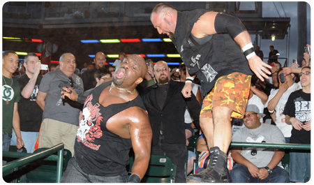 TOTAL NONSTOP ACTION LIVES UP TO NAME AT MCU PARK