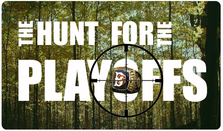 THE HUNT FOR THE PLAYOFFS