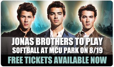 FREE JONAS BROS SOFTBALL TIX